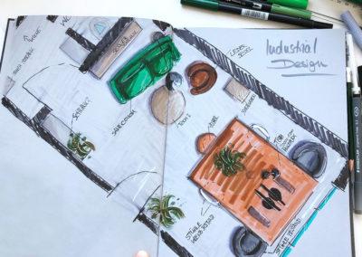 Architektur Zeichnungen